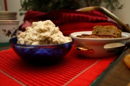 White Bean dip with white truffle oil