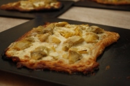 Artichoke and Feta Cheese Tart 1