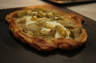 Artichoke and Feta Cheese Tart 2