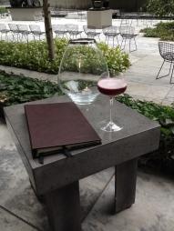 Cocktail: Black Canvas.