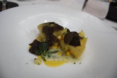 Course Three: Black Truffle.