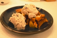 Peach Crostata and Paleo-friendly Coconut Ice Cream