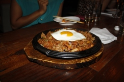 Kimchi & Beef Brisket Fried Rice with Egg