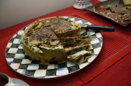 Provençal Omelette Cake
